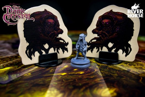 The Dark Crystal board game - Jen versus de Garthim