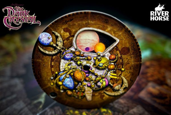 The Dark Crystal board game - planetarium draaischijf