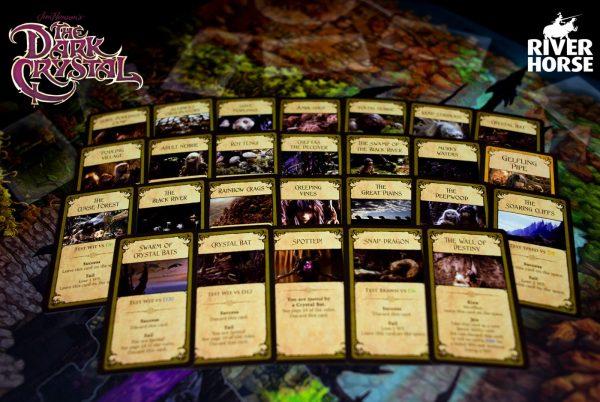 The Dark Crystal board game - spelkaarten