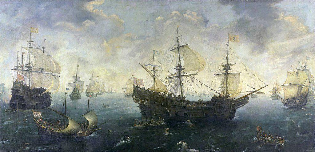 Zeemanslegendes - De Spaanse Armada voor de kust van Engeland