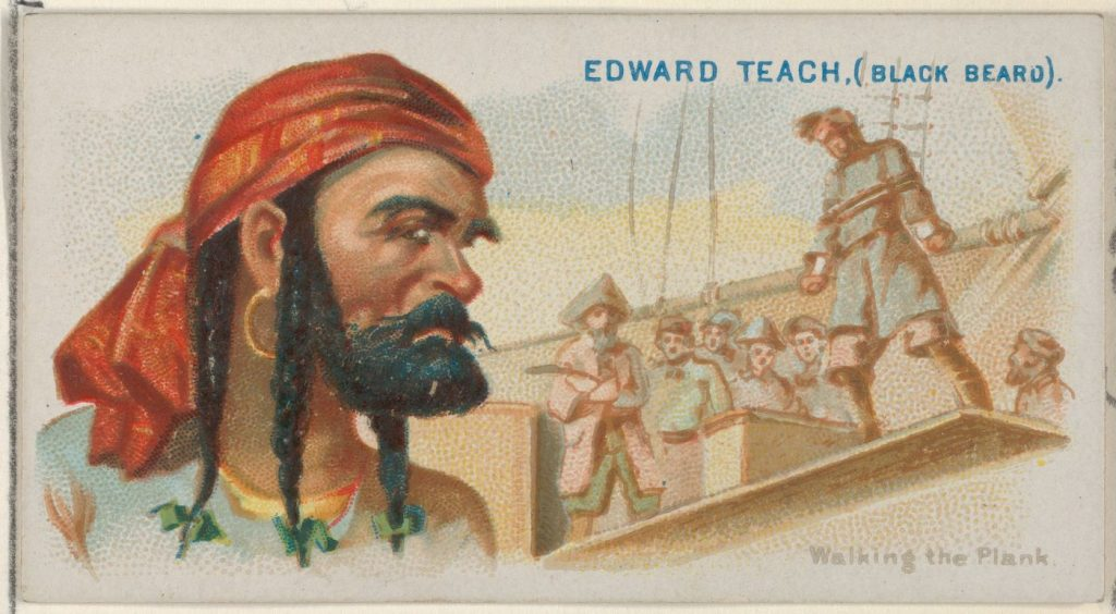 Zeemanslegendes - Edward Teach (Black Beard), Walking the Plank