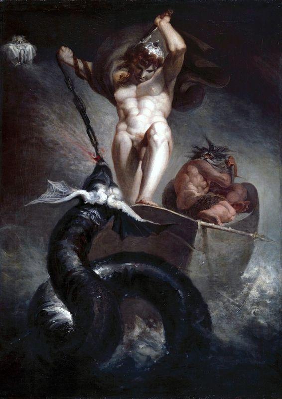 Zeemanslegendes - Thor en Jormungandr