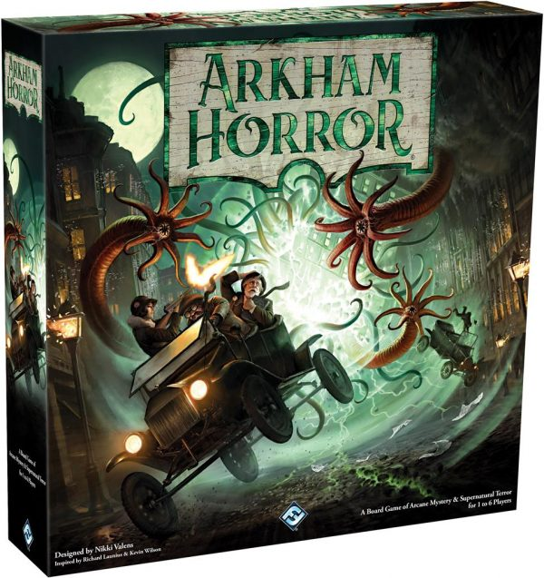Arkham Horror bordspel - 3rd Edtion packshot