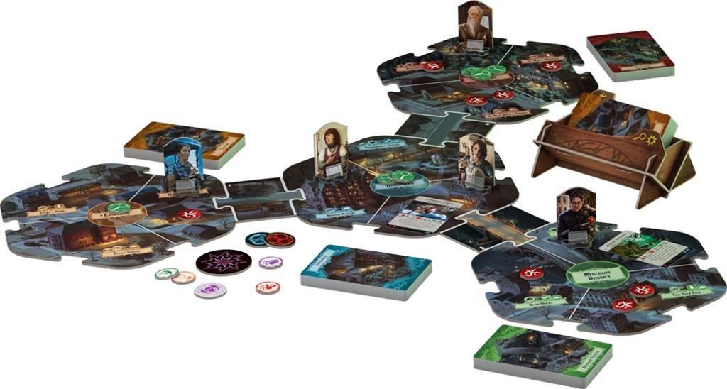 Arkham Horror bordspel - 3rd Edtion speloverzicht