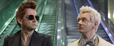 Good Omens op Amazon - openingsbeeld