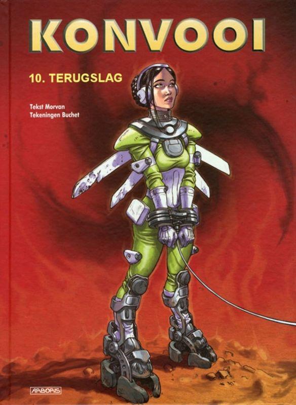Johan Klein Haneveld – Mijn Top 5 Europese SF-strips - Konvooi 10 - Terugslag small