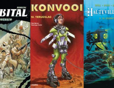 Johan Klein Haneveld – Mijn Top 5 Europese SF-strips - openingsbeeld