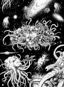 Lovecraft achtergrond - Azathoth