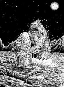 Lovecraft achtergrond - Dagon