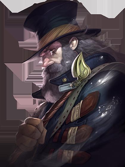 Obscurio bordspel - personage