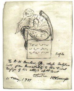 Schets van Cthulhu door H.P. Lovecraft