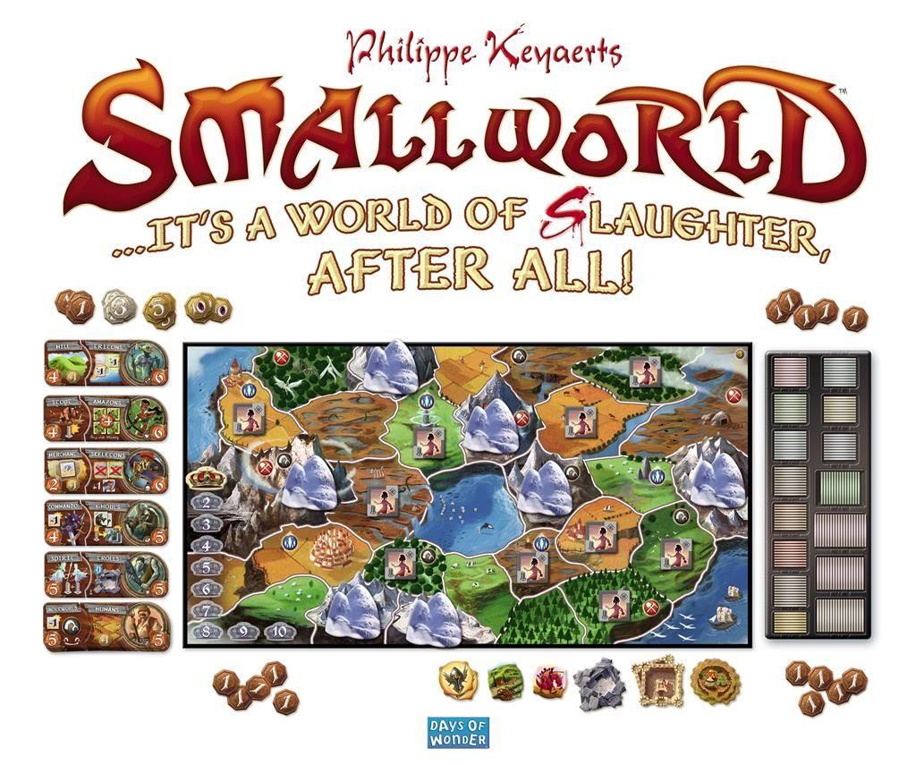 Small World bordspel - promo art
