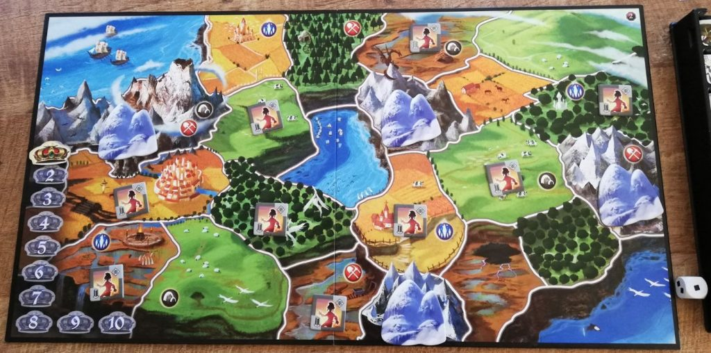 Small World spelbord