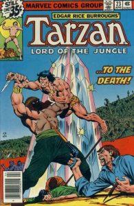 Tarzan Vol 1 nummer 23 met Abdul Alhazred
