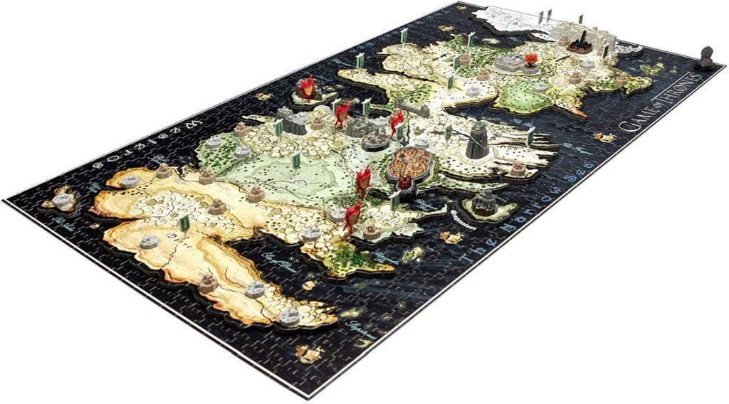 Fantasy sciencefiction en horror puzzels - 4D Game of Thrones Westeros puzzel detail
