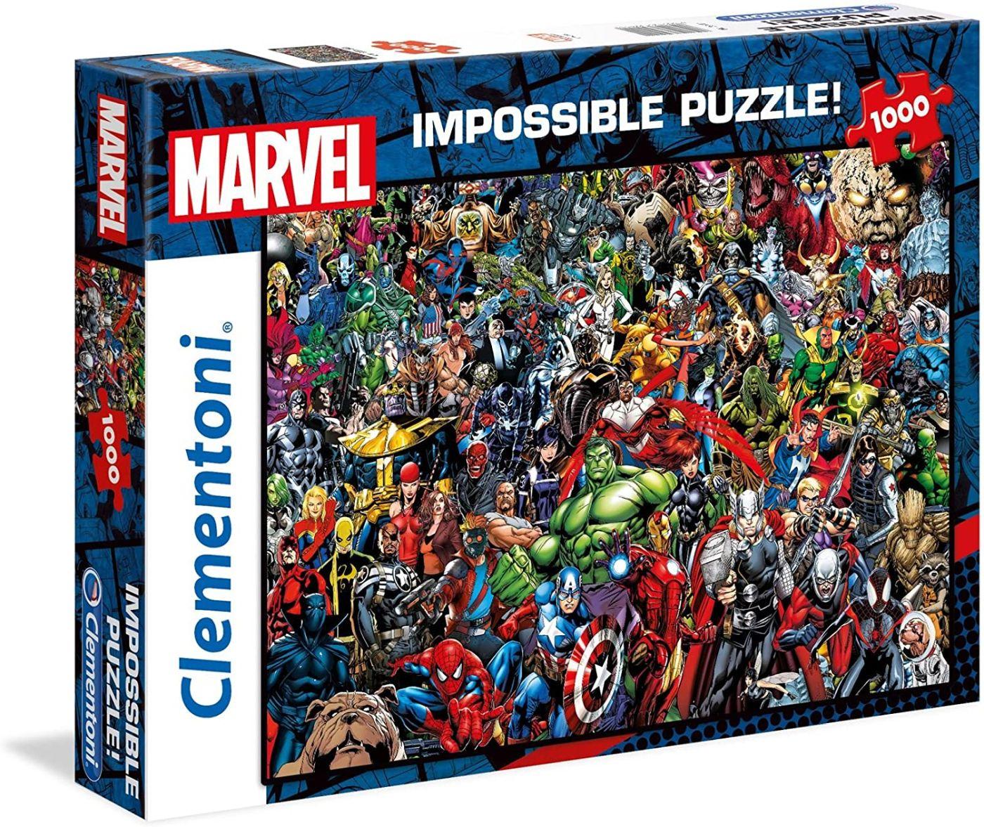 Clementoni Marvel Universe Impossible puzzel