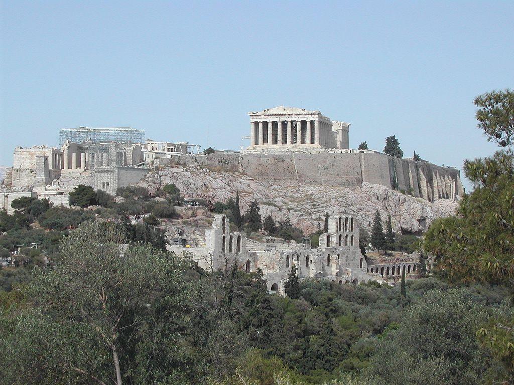 Interview met Peter DeWillis: De Akropolis in Athene