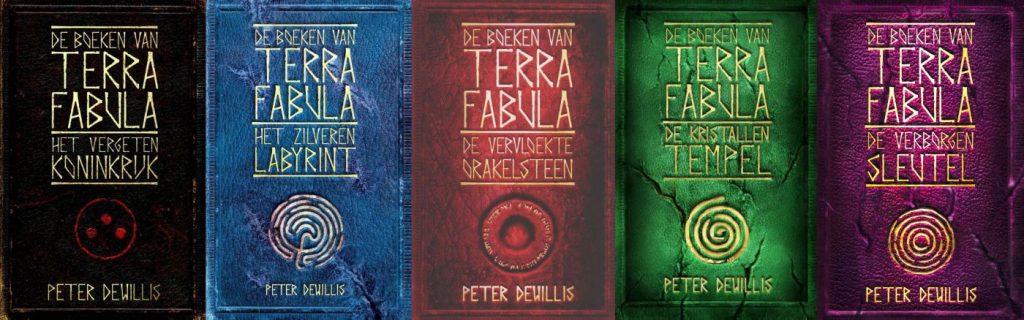De Boeken van Terra Fabula - vijf delen