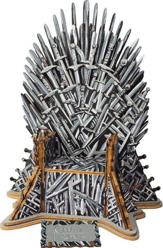 Game of Thrones Iron Throne 3D puzzel