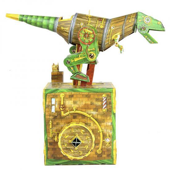 Fantasy sciencefiction en horror puzzels - Magnificent Dinosaur Machine Moving 3D Puzzle Preorder detail