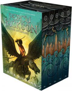 Modern Myths Nieuws 2020 Week 19 20 - Percy Jackson boxset boeken
