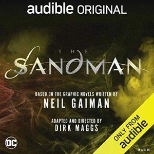 Modern Myths Nieuws 2020 Week 19 20 - Sandman op Audible logo
