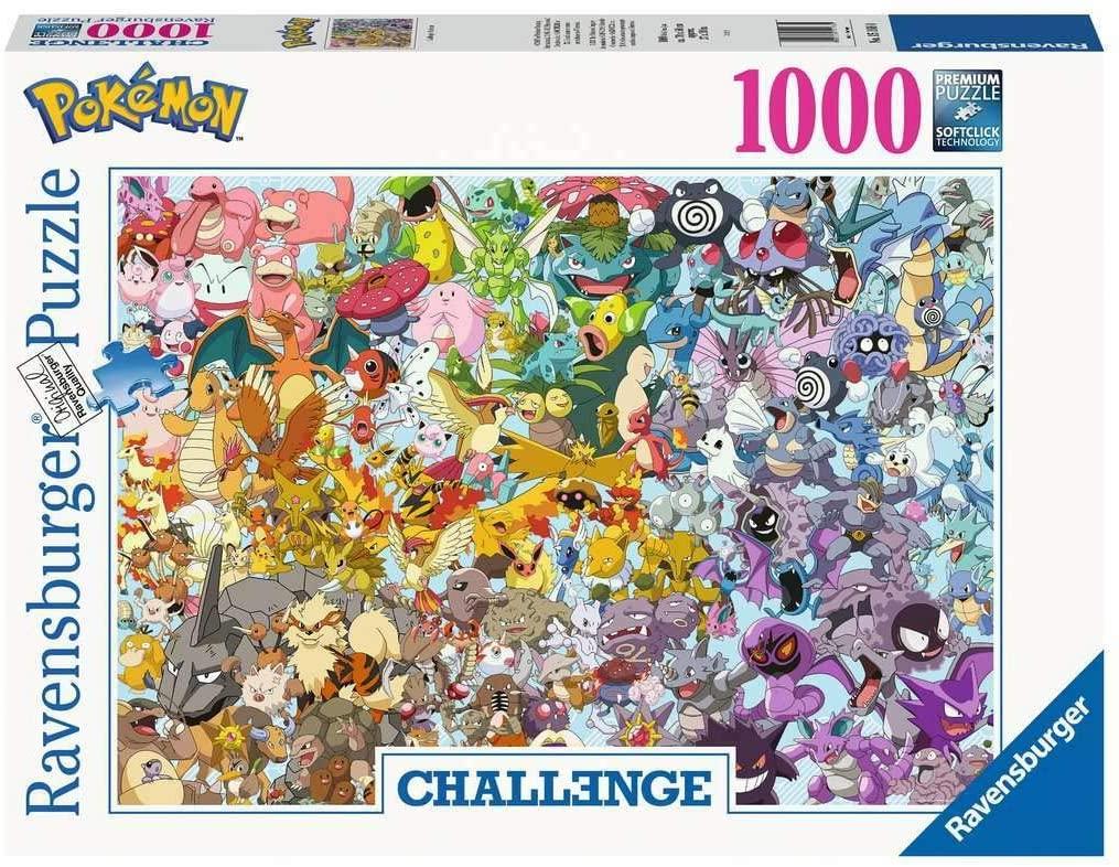 Ravensburger Puzzel Challenge Pokemon