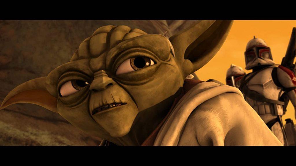 Star Wars The Clone Wars seizoen 7 - Yoda