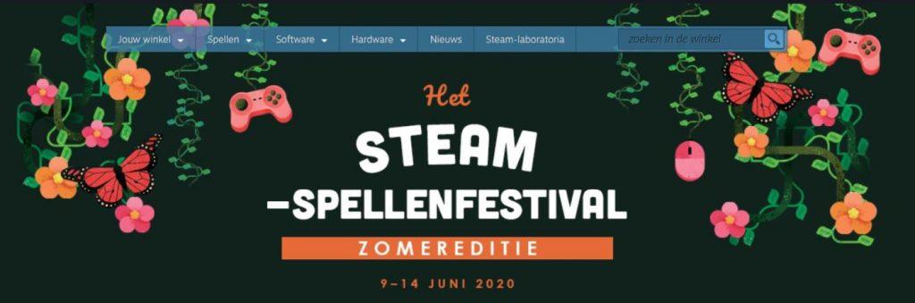 Steam Spellenfestival 2020