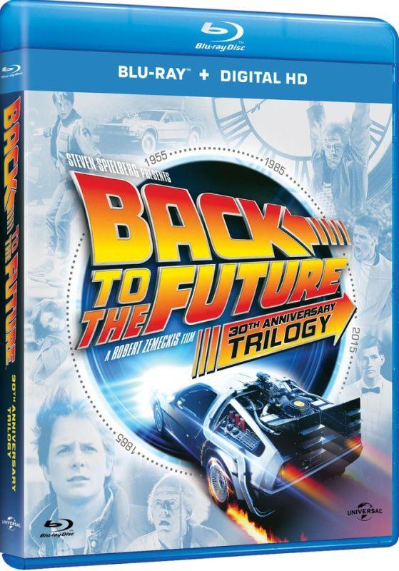 Back to the Future blu-ray trilogie Zavvi.nl