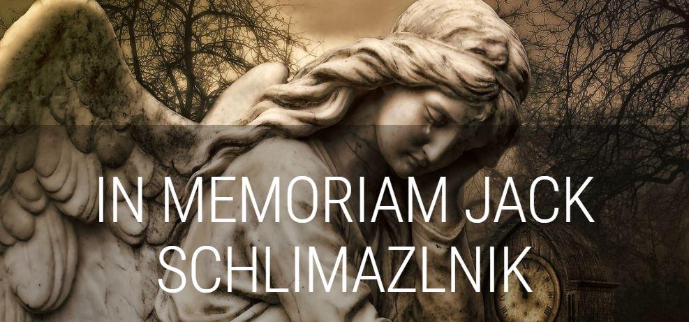 Modern Myths Nieuws 2020: Week 21/22 - In Memoriam: Jack Schlimazlnik