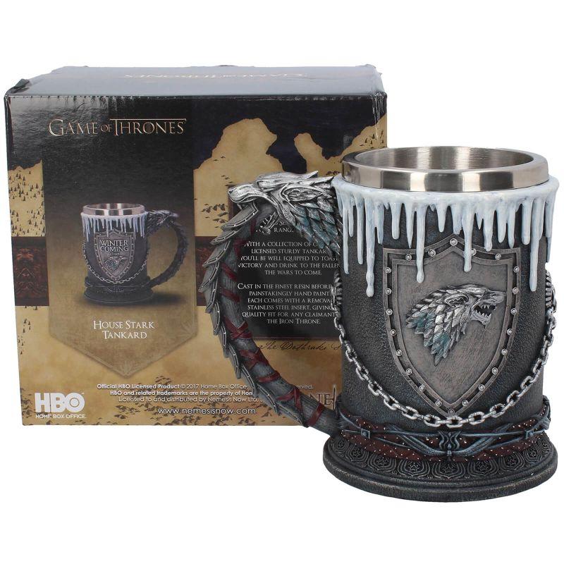 Modern Myths Merchandise – Vaderdag Game of Thrones Stark bierpul