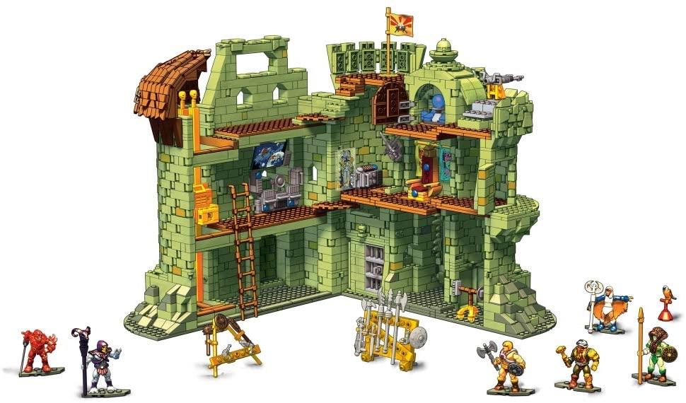Modern Myths Merchandise – Vaderdag Masters of the Universe Mega Construx Castle Grayskull