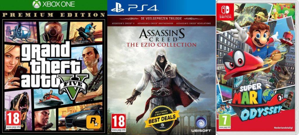 Modern Myths Merchandise – Vaderdag korting op games