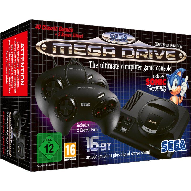 SEGA Mega Drive Mini console - Zavvi