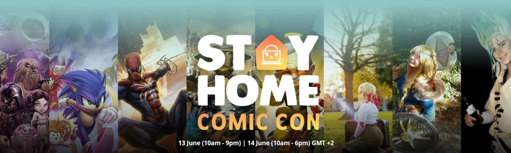 Modern Myths Nieuws 2020: Week 21/22 - Stay Home Comic Con Summer Edition 2020 - banner