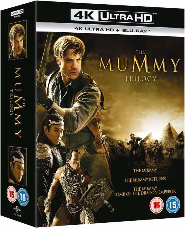 The Mummy trilogie 4K UHD boxset Zavvi.nl