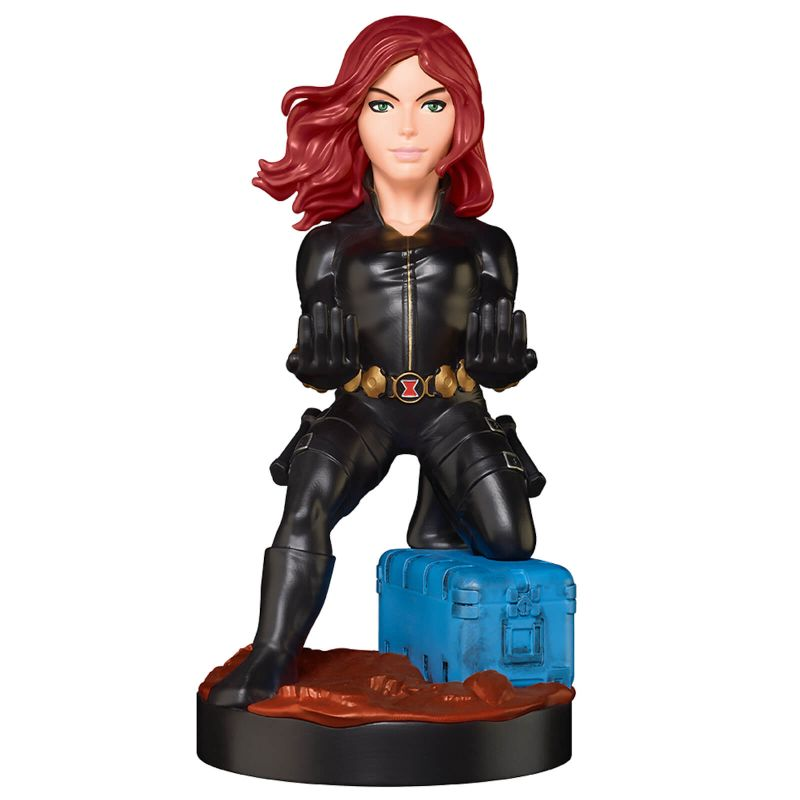 Modern Myths Merchandise – Cable Guys - Black Widow Cable Guy - Zavvi detail