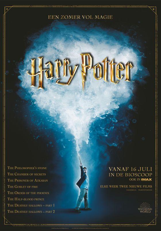 Modern Myths Nieuws 2020: Week 26 - 27 - Harry Potter Zomer poster