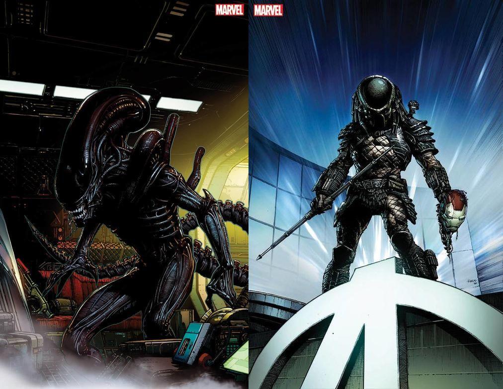 Modern Myths Nieuws 2020: Week 26 - 27 - Marvel Alien en Predator - David Finch