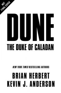 Modern Myths Nieuws 2020: Week 28 - 29 - Dune: The Duke of Caladan cover