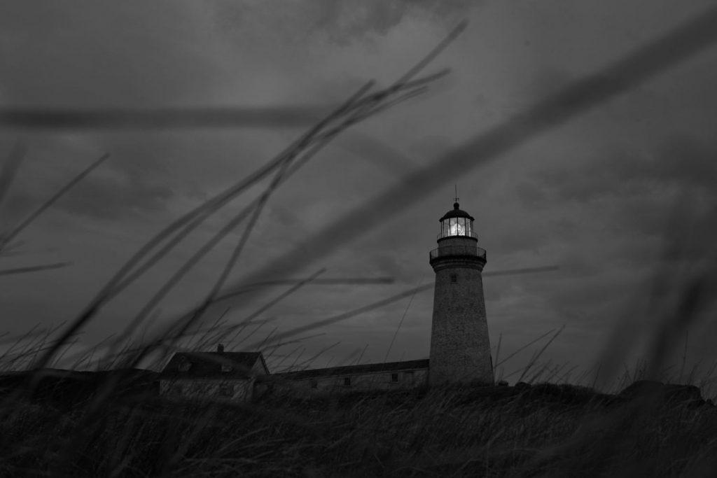 The Lighthouse - Vuurtoren bij nacht