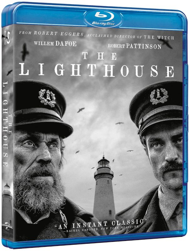 The Lighthouse blu-ray dvd winactie - blu-ray packshot