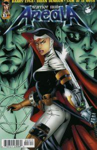Warrior Nun Areala comic cover