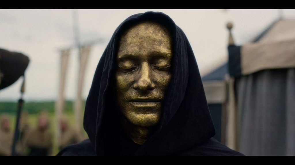 Cursed recensie - Uther Pendragon soldaat