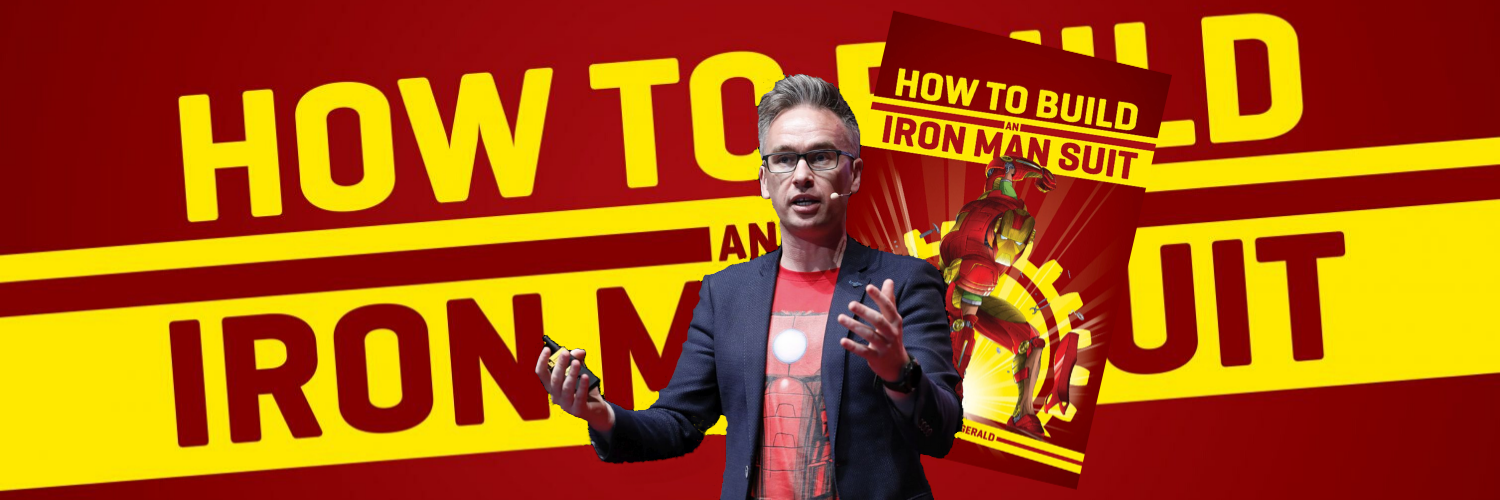How to Build an Iron Man Suit interview - Modern Myths talks to Barry W Fitzgerald