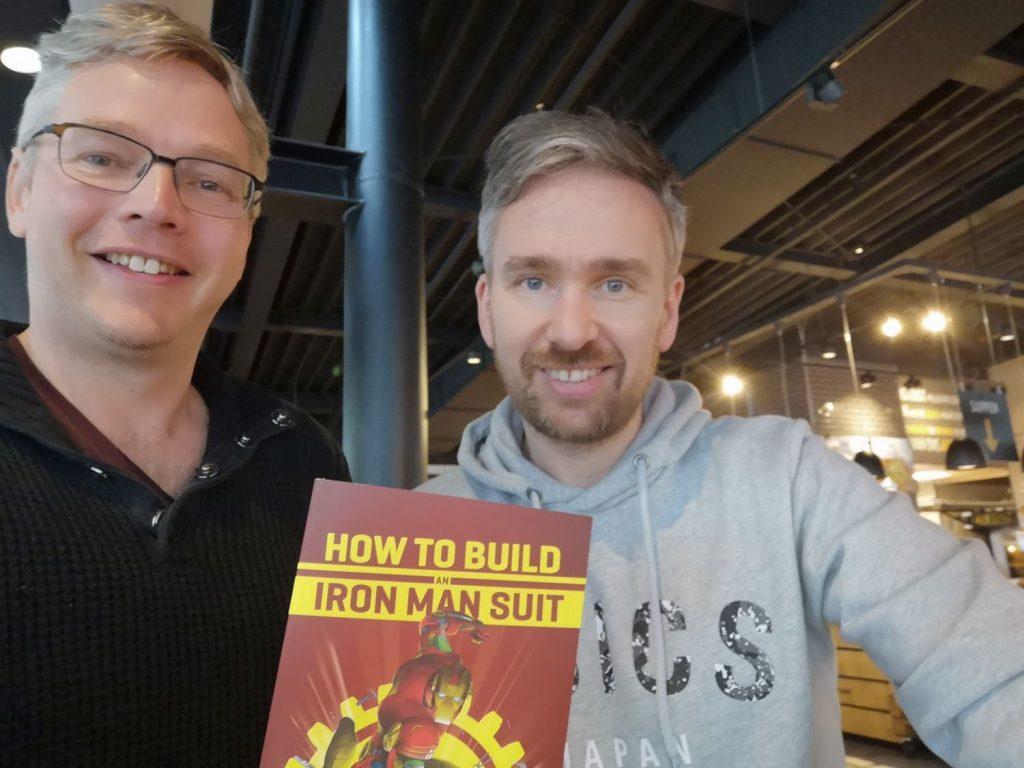 How to Build an Iron Man Suit interview - Jeroen Geelhoed en Barry W. Fitzgerald