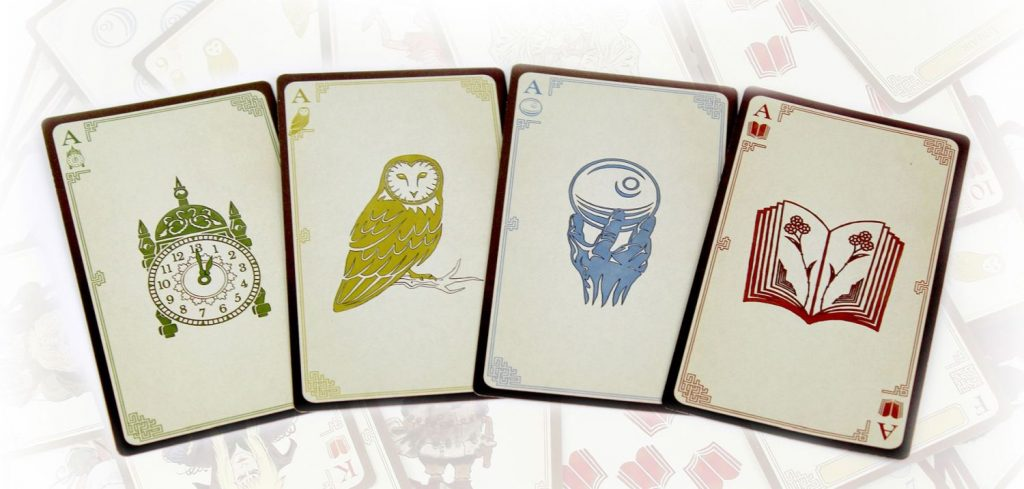 Labyrinth The Card Game recensie - The Minor Suits