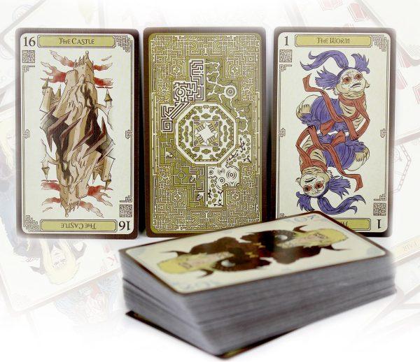 Labyrinth kaartspel - Overzicht kaarten