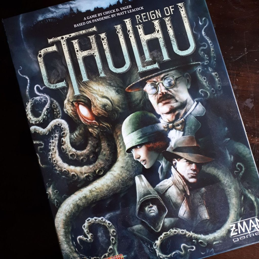 Pandemic Reign of Cthulhu packshot